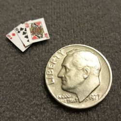 Tiny Details playing cards