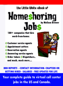 Little White eBook of Homeshoring Jobs