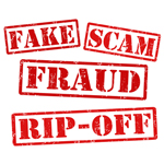 fake, scam, fraud, rip-off